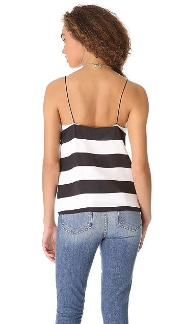 Tibi Stripe Camisole