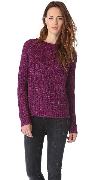Tibi Asymmetrical Pullover