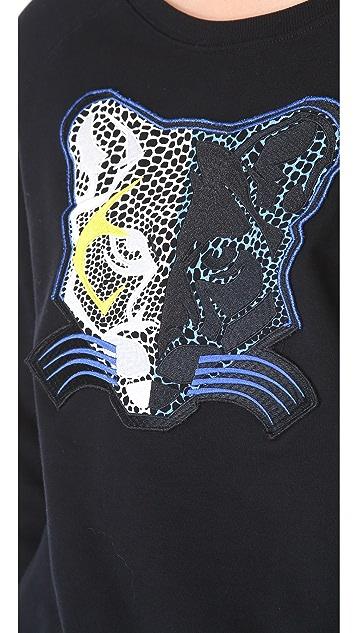 Tibi Panther Sweatshirt
