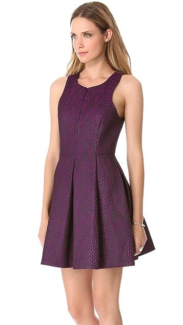 Tibi Sleeveless Zipper Dress