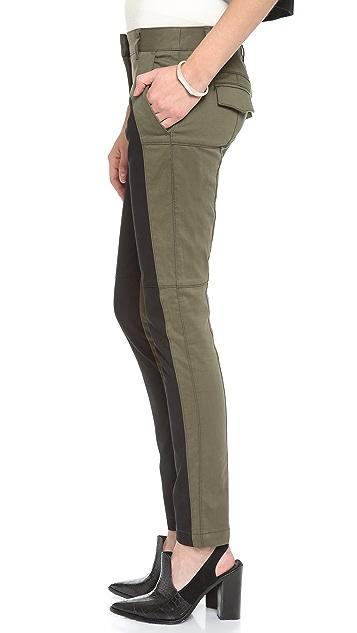 Tibi Seamed Skinny Pants