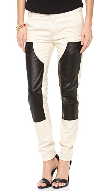 Tibi Carpenter Skinny Pants