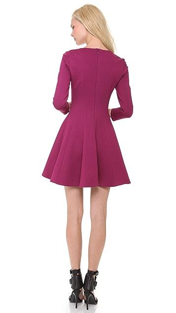 Tibi 3/4 Sleeve Ponte Dress