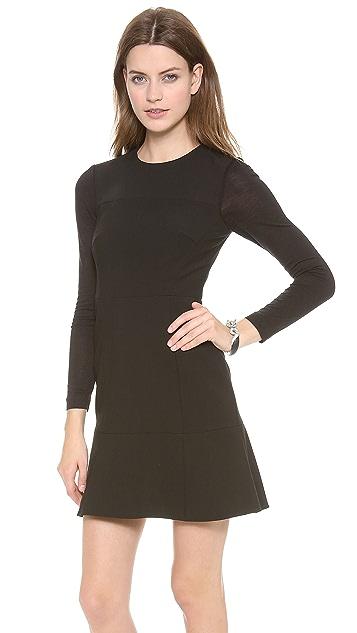 Tibi Paneled Dress