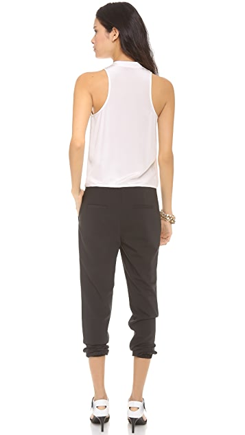 Tibi Tropical Suiting Jumpsuit