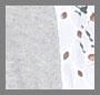 White/Heather Grey Multi