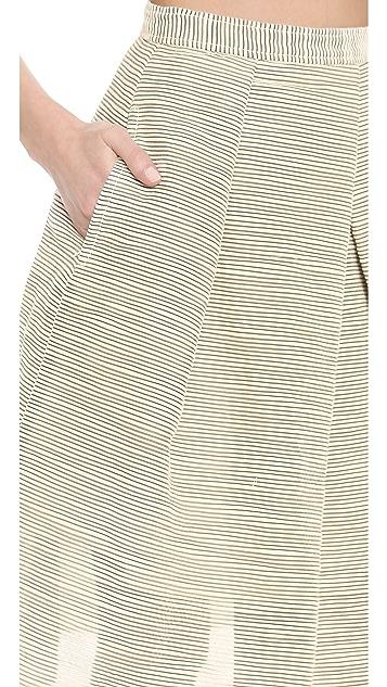 Tibi Full Pleated Skirt