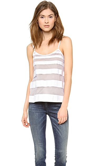 Tibi Striped Cami