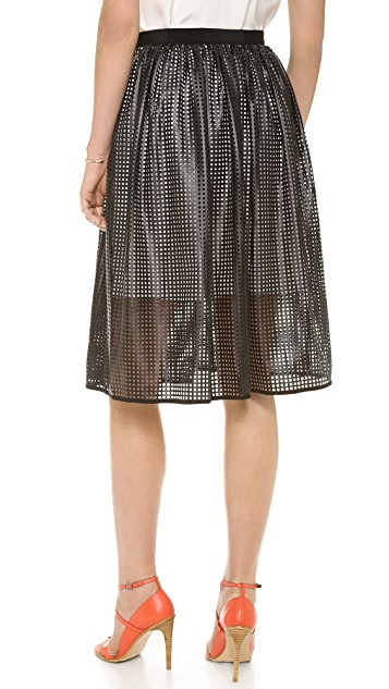 Tibi Pavement Skirt