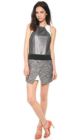 Tibi Pavement Sleeveless Dress