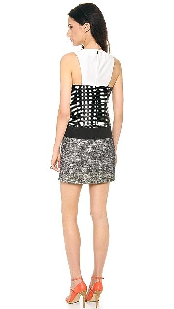 Tibi Pavement Sleeveless Dress