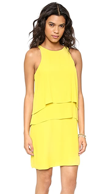 Tibi Layered Halter Dress