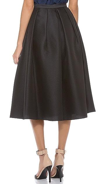 Tibi Simona Jacquard Skirt