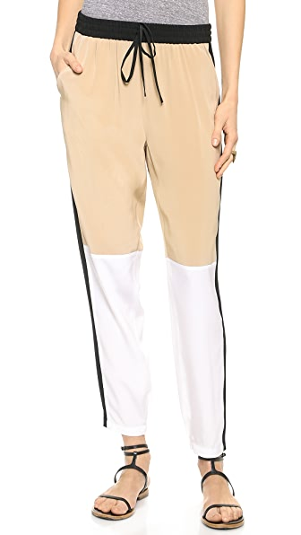 Tibi Paneled Jogging Pants