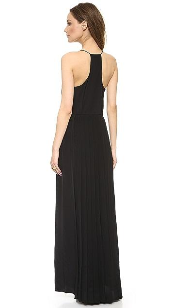 Tibi Pleated Maxi Dress