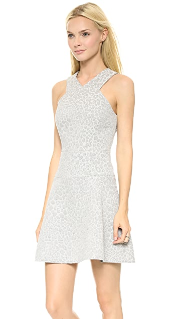Tibi Strappy Flirty Dress
