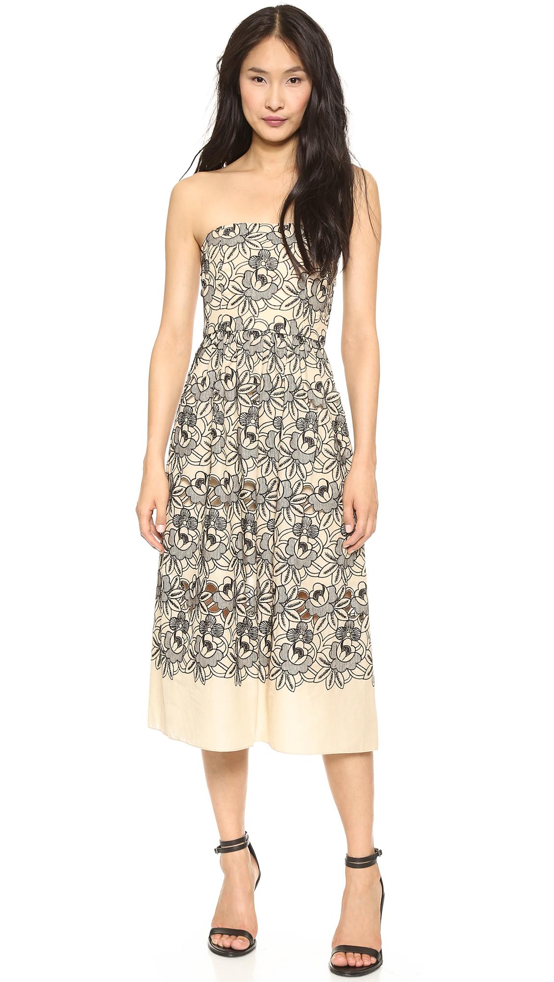 Tibi Strapless Dress - SHOPBOP