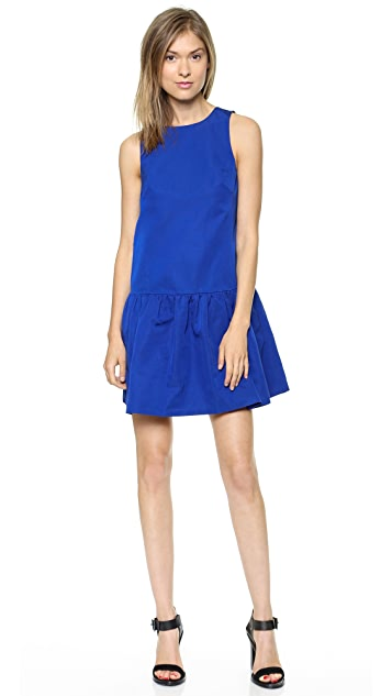 Tibi Sleeveless Flirty Dress