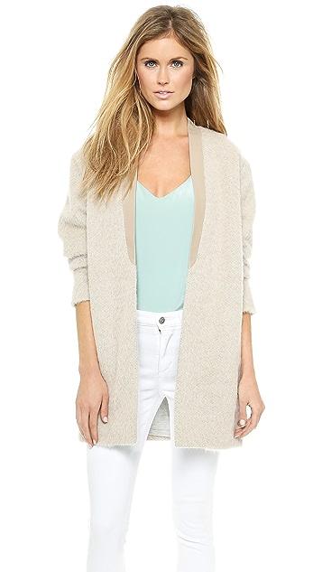 Tibi Long Cardigan Coat