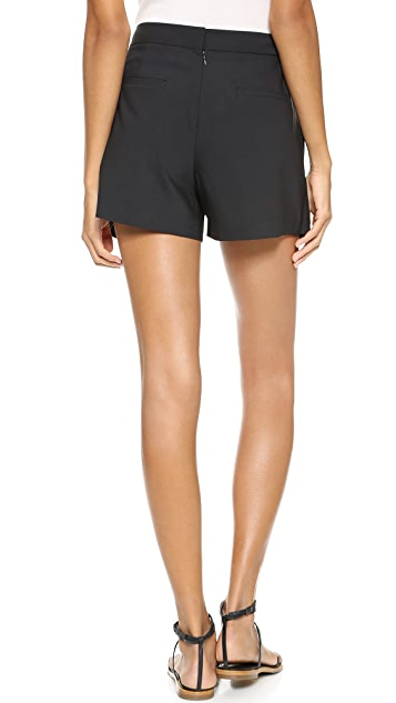 Tibi Pleated Shorts