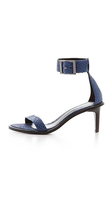 Tibi Ivy Mid Heel Sandals