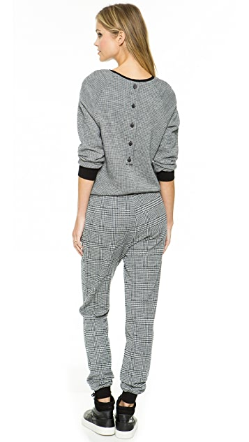 Tibi Long Sleeve Jumpsuit