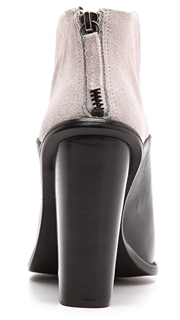 Tibi Ondria Open Toe Ankle Booties