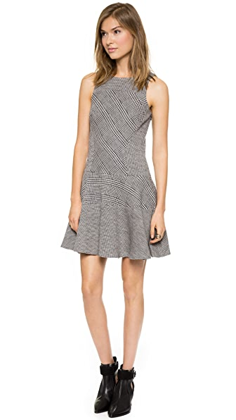 Tibi Chadwick Knit Flirty Dress