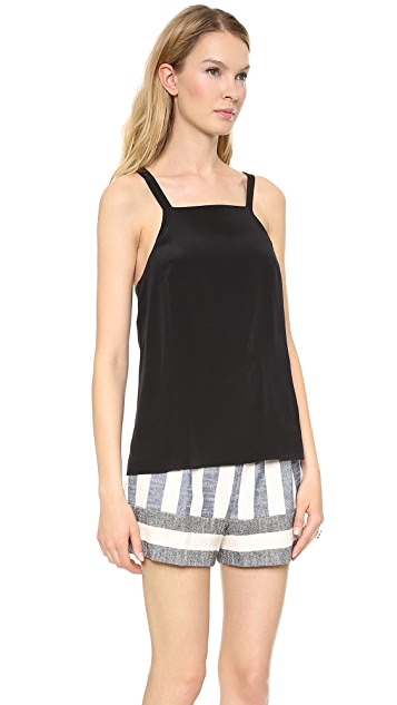 Tibi Square Neck Cami