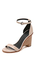 Milla Wedge Sandals                Tibi