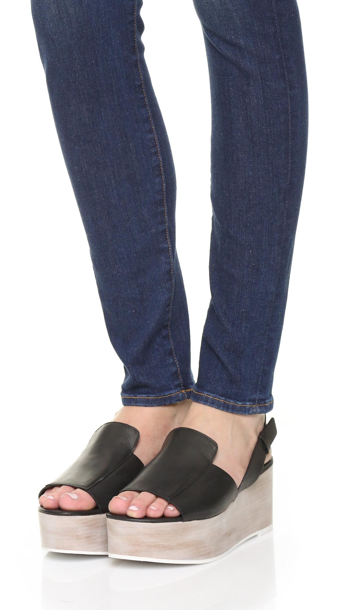 e247443b69f Tibi Alex Flatform Sandals