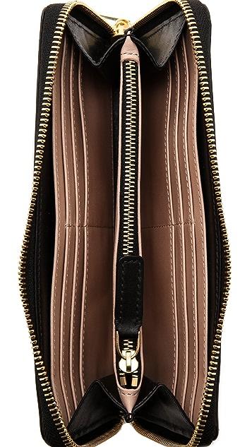 Time's Arrow Zipper Continental