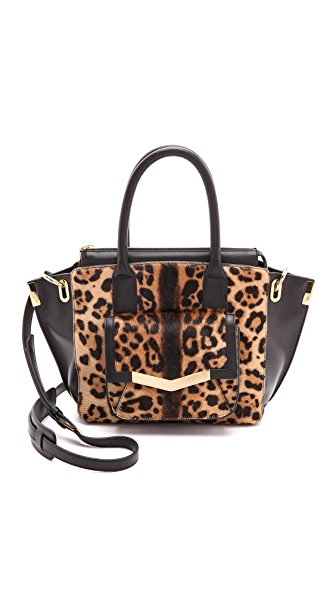 Time's Arrow Haircalf Mini Jo Tote