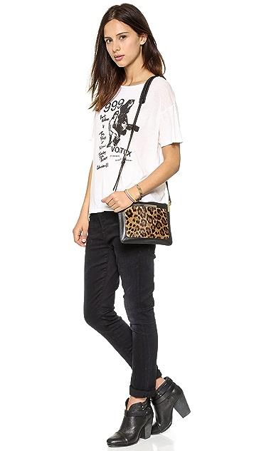 Time's Arrow Haircalf Ishi Small Shoulder Bag