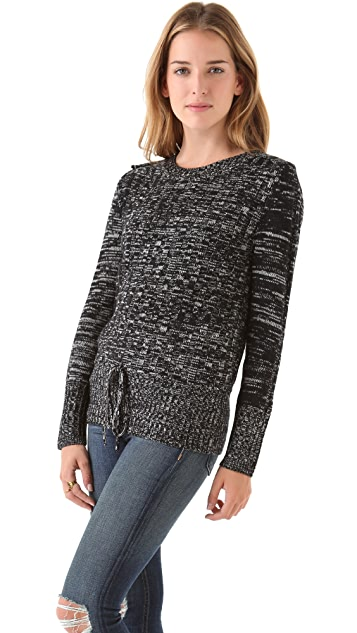 Timo Weiland Tie Waist Sweater