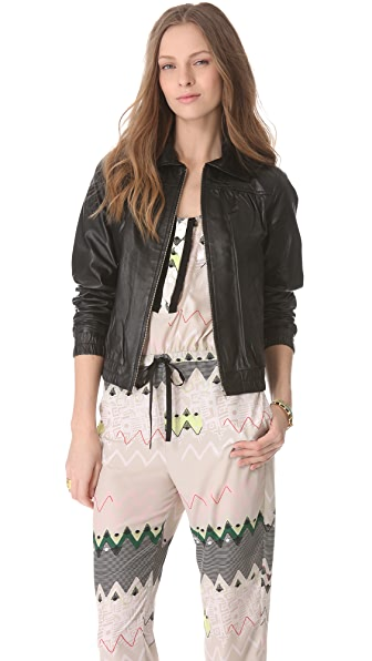 Timo Weiland Leather Jacket