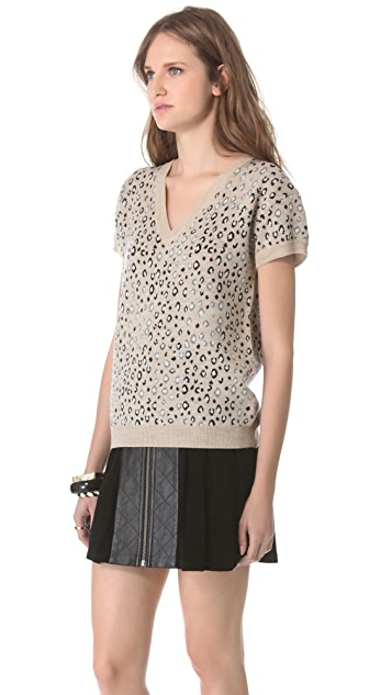 Timo Weiland Emily Deep V Neck Sweater