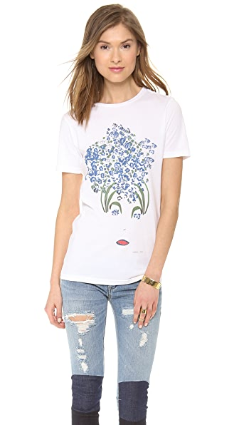 Timo Weiland Timo Weiland x Rxmance Foliage Face T-Shirt