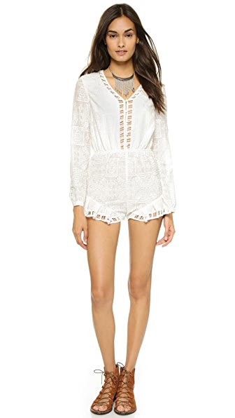 The Jetset Diaries Sundown Romper