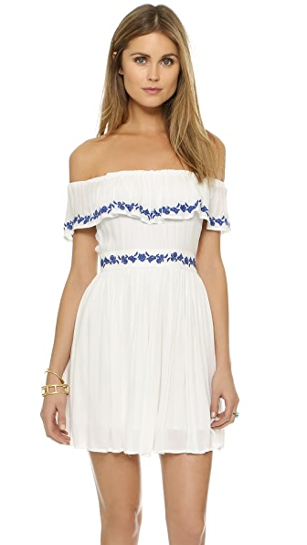 The Jetset Diaries Pompeii Ruffle Dress