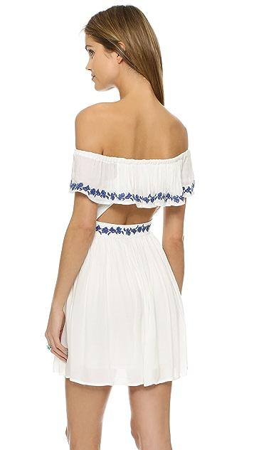 The Jetset Diaries Pompeii Ruffle Dress