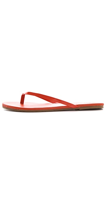 TKEES Lipgloss Thong Sandals