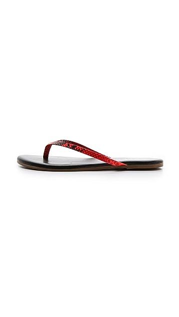 TKEES Facepaints Flip Flops