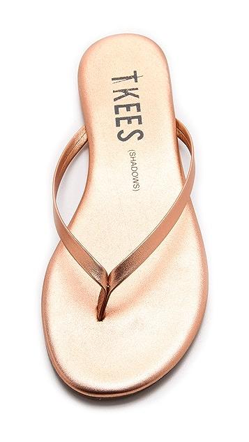 TKEES Shadows Flip Flops