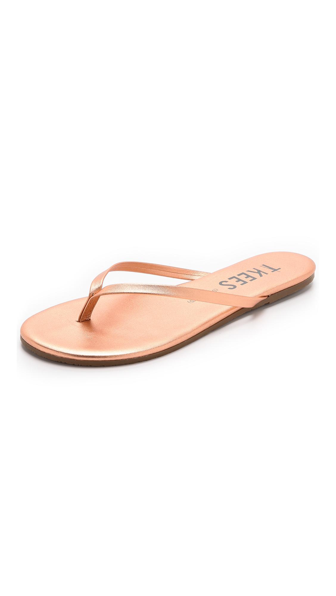 TKEES Shadow Flip Flops - Beach Pearl