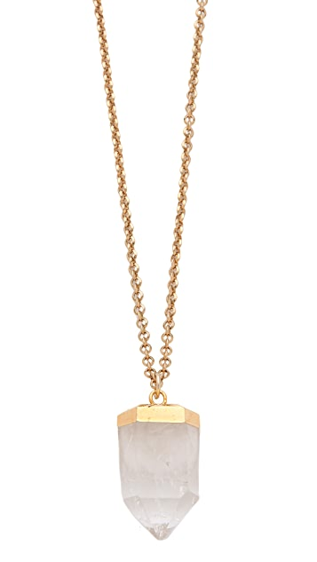 T. Kilburn Tinted Crystal Necklace