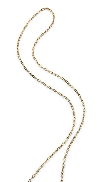 T. Kilburn Cluster Charm Necklace