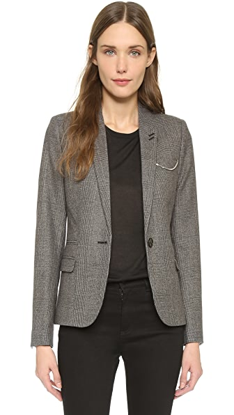 The Kooples Check Jacket