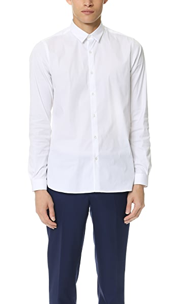 The Kooples Point Collar Stretch Shirt