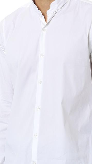 The Kooples Stretch Cotton Poplin Shirt